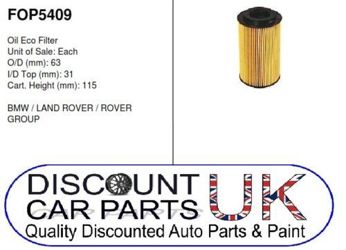 10//02-12//07 Oil Filter Rover Group MGZT 2.0 CDTi 135 16v 1951 Diesel