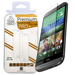100-GENIUNE-NEW-TEMPERED-GLASS-FILM-SCREEN-PROTECTOR-LCD-GUARD-FOR-HTC-PHONES