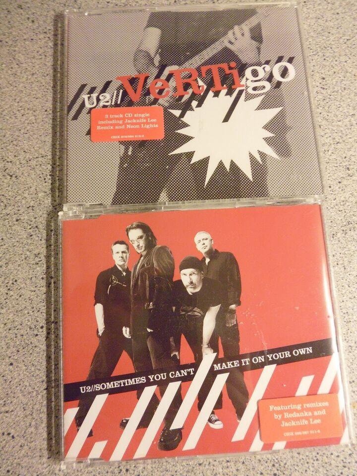 U2: Vertigo & Sometimes you cant make it on your own, pop