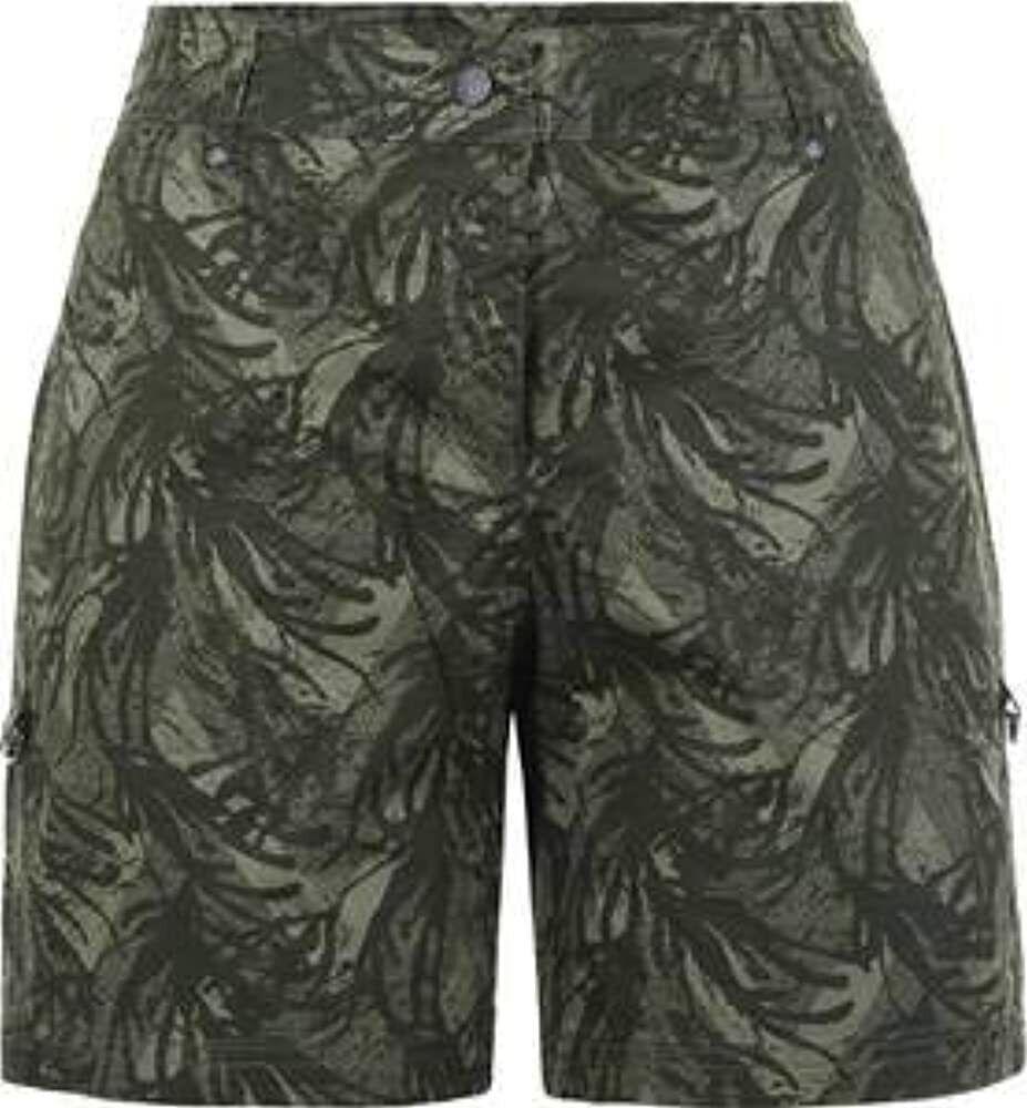 Icepeak Damen Shorts O12-ds kurze Hose, dunkelgrün, 38