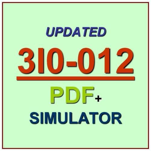 ACI Dealing Certificate Test 3I0-012 Exam QA PDF+Simulator
