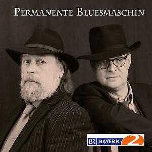 PERMANENTE-BLUESMASCHIN-Schorsch-Hampel-Arthur-Dittlmann-CD-NEU-Mundart-Blues