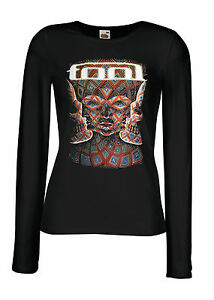 30ec2008 TOOL BAND 2 Lady Long Sleeve Black T-shirt Woman Rock Band   eBay