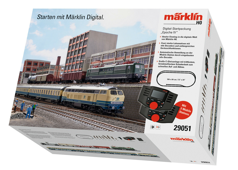 Märklin 29051 digitale start confezione con 2 treni NUOVO OVP