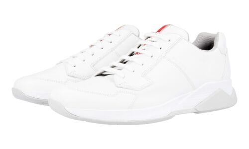 43 9 New 4e2807 New White di Scarpe 43 Sneaker 5 Prada lusso x18FvB