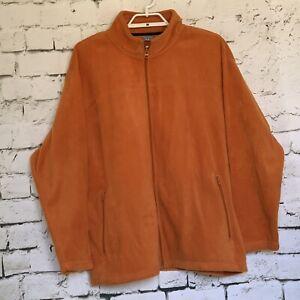 Warm-Orange-Fleece-PROSPIRIT-Athletic-gear-Size-XL-Mens-Adult-Jacket-Preowned