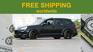 Details about Porsche Cayenne Adjustable Lowering Kit Links Air Suspension  from GERMANY