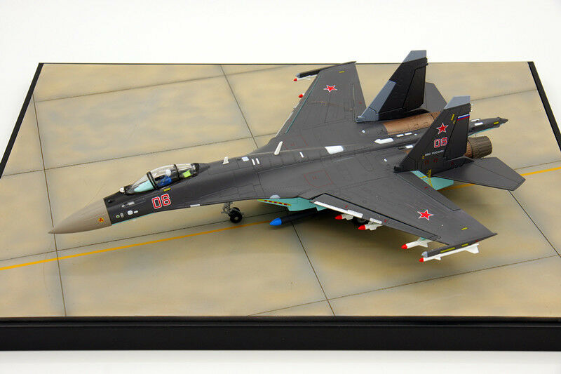 1 72 Sukhoi Su-35 Flanker-E Super Flanker Fighter Diecast Metal Plane Model Toy