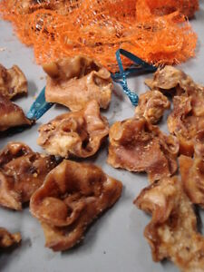 Pigs Inner Ears (Pork Crunch)  2kg - Wholesale importers! Huge Margin!!! RRP £30