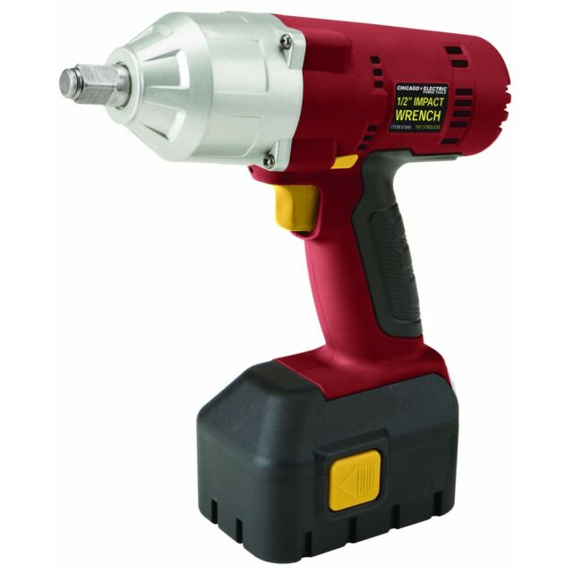 New 18 Volt Cordless Impact Wrench With Charger And Battery Included