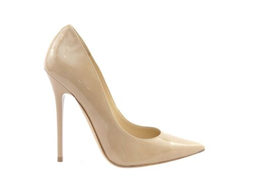 Leather Patent 27 Rrp Anouk sconto Jimmy Nude di Choo 7gIxwntqz