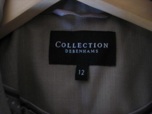 Debenhams En Lysebrun Collection Kvinde 12 Jakke Dejlig Størrelse ErfqExF