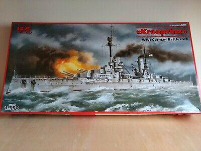 Deutsches Schlachtschiff 1:700 ICM S016 Kronprinz
