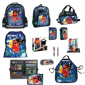 Image is loading Angry-Birds-MOVIE-Backpack-Pencil-Case-Shoe-Bag-  sc 1 st  eBay & Angry Birds MOVIE Backpack Pencil Case Shoe Bag Pouch Lunch Box ... Aboutintivar.Com