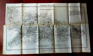 1898 Sketch Map Position Cuban and Spanish Forces on July 3rd Santiago de Cuba