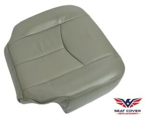 Stupendous Details About 03 06 Chevy Tahoe Suburban Gmc Yukon Driver Side Bottom Vinyl Seat Cover Grey Ibusinesslaw Wood Chair Design Ideas Ibusinesslaworg