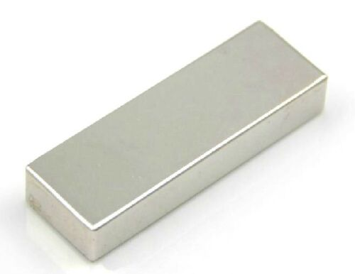 5PCS Super Strong Block Cuboid Magnets 60 x 20 x 10 mm Rare Earth Neodymium N50