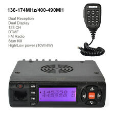Mobile Amateur/ Taxi Radio Transceiver UHF VHF Dual Band 2m/70cm USA SHIPPING