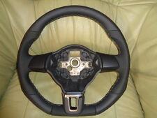 Extrem Tuning GTI R Line Lederlenkrad VW Golf 6 Jetta T5 Touran Unten Abgeflacht