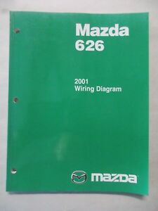 image is loading 2001-mazda-626-electrical-wiring-diagrams-service-manual