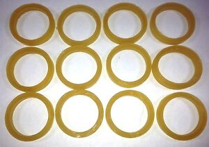 """SET of 12 DOLL REPAIR RUBBER BANDS FOR RESTRINGING  8-12/"""" DOLLS"""