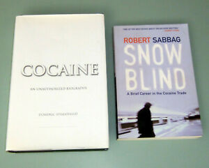 2 Books COCAINE COCA SNOWBLIND SMUGGLING COLUMBIA BOLIVA PSYCHEDELIC CANNABIS