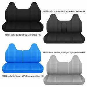 Super Details About Cc Cotton Bench Seat Cover W Molded Headrest Fits Ford F 150 250 350 Caraccident5 Cool Chair Designs And Ideas Caraccident5Info