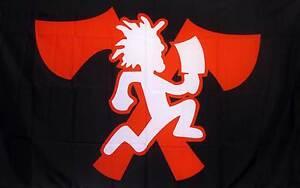 juggalo 3x5 hatchet man flag icp insane clown posse ebay