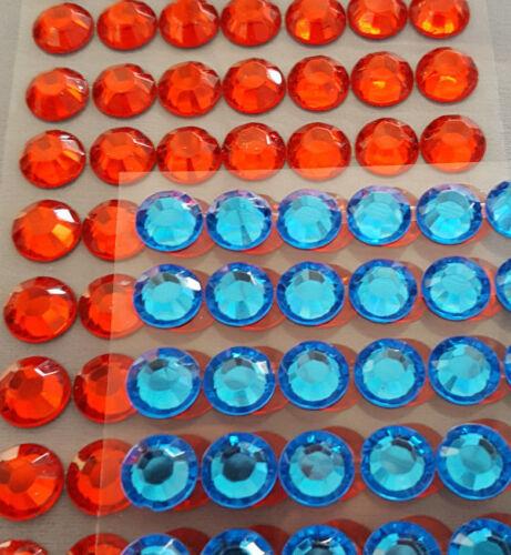 Vino espumoso Joya Pedrería Artesanía Pegatinas Etiquetas Decoraciones Negro Rojo Azul Rosa Claro