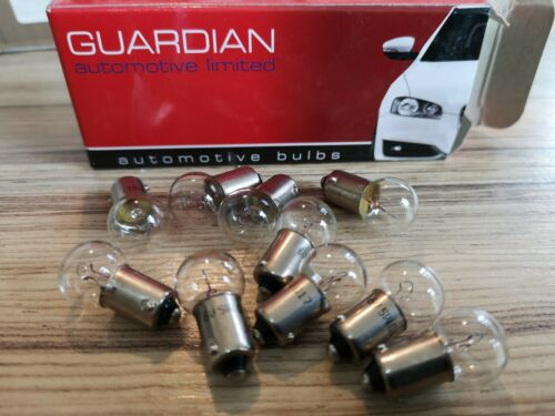 6 VOLT 6 WATT BAYONET fix  bulbs X 10