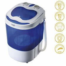 Mini lavadora portátil camping 3Kg lavado, 1 Kg centrifugadora Adler AD 8051
