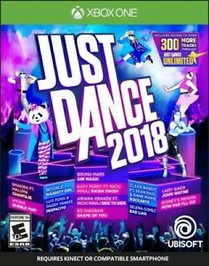 XBOX ONE XB1 VIDEO GAME JUST DANCE 2018 BRAND NEW AND FACTORY SEALED