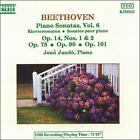 Beethoven: Piano Sonatas, Vol. 6 (CD, Sep-1992, Naxos (Distributor))
