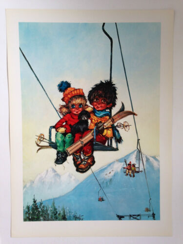 LA MONTEE EDITIONS KRISARTS 1970 ILLUSTRATION MICHEL THOMAS POULBOT