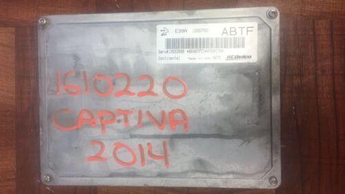 2013 2014  Chevrolet Captiva Equinox Impala Engine Computer ECU ECM OEM 12653998