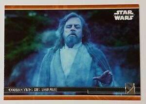 2020 Star Wars The Rise Of Skywalker Series 2 Bronze Parallel Ghost Luke 63 99 Ebay