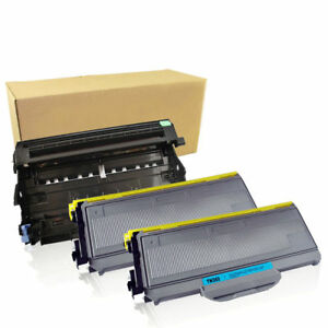 2-TN360-Toner-Cartridge-DR360-Drum-For-Brother-HL-2140-2170W-MFC-7340-MFC-7840W