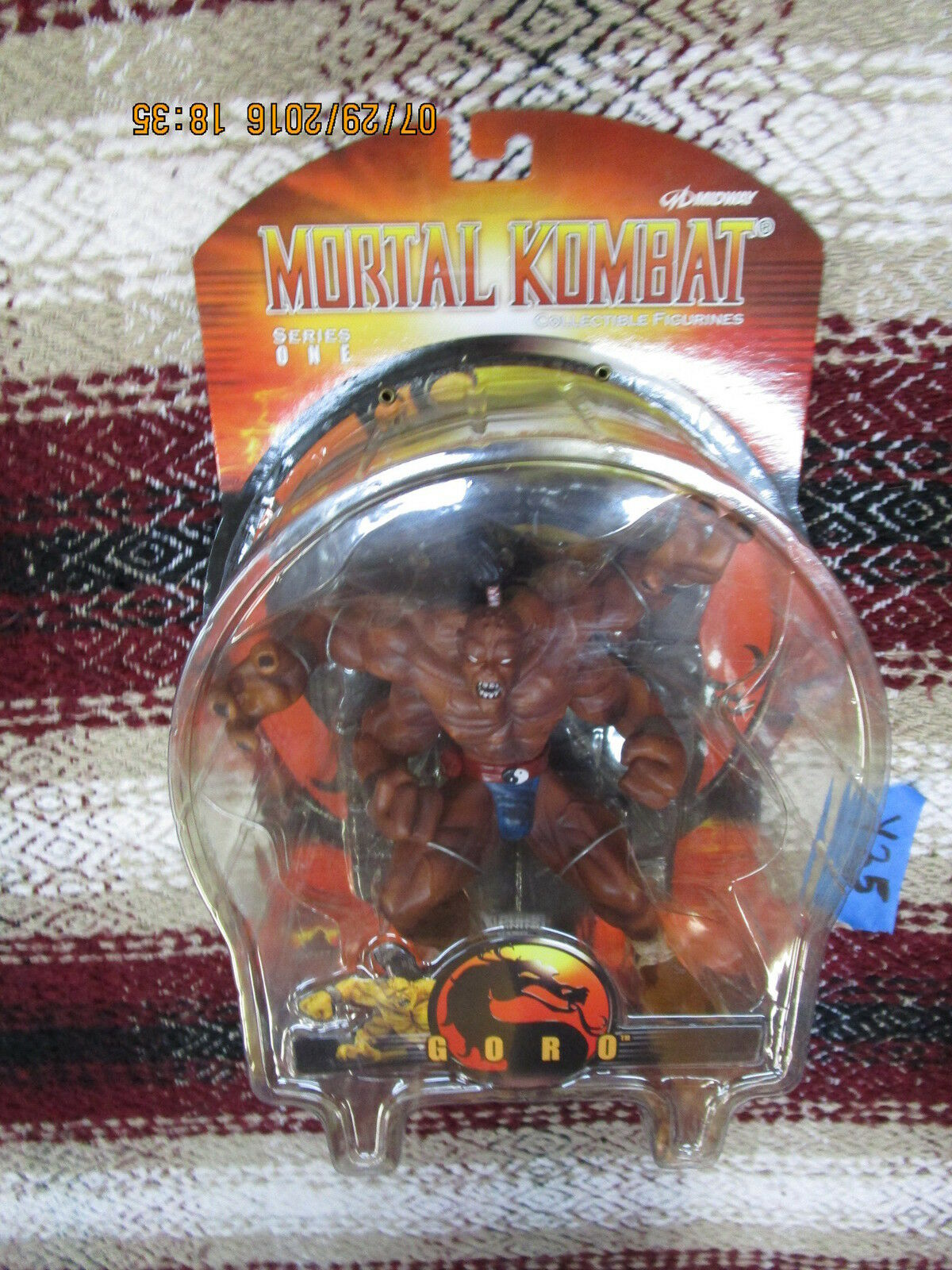 Y35 Palisades Mortal Kombat 1 SERIES ONE Ggold 8  ACTION FIGURE combat mk1 mk9 x