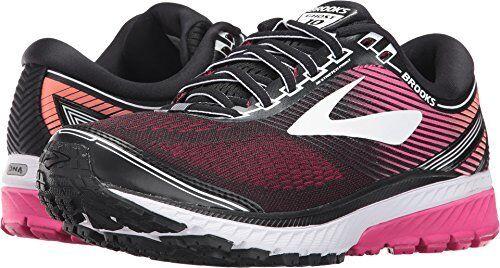 60d99427077 Brooks 120246 1b 067 Ghost 10 Black   Pink Women s Running Shoes ...