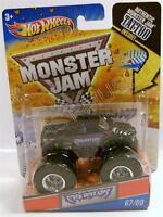 Predator Panther Cat Monster Jam Truck With Tattoo Diecast Hot Wheels