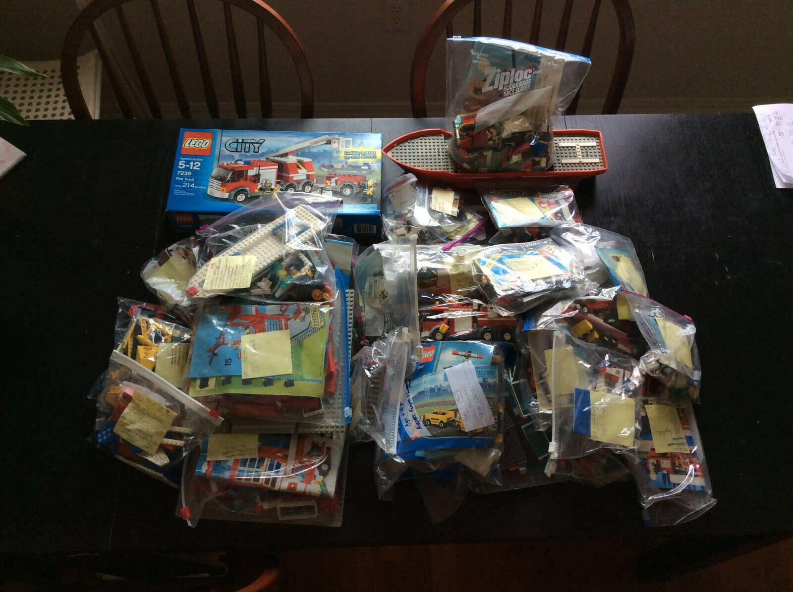 HUGE Masse of 34 USED LEGO Stadt Town Sets. FREE SHIPPING.