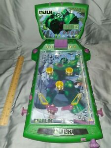 The Incredible Hulk By Marvel Pinball Machine Rare 2003 Tabletop Working