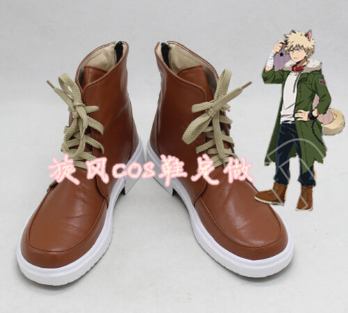 My Boku no Hero Academia Katsuki Bakugou Halloween Cosplay shoes costom made  JJ