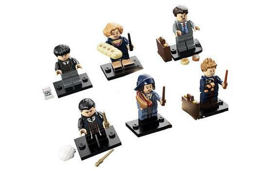 LEGO  HARRY POTTER Mini Figurines Série Fantastique Bêtes-Lot de 6 (71022)  beaucoup de concessions
