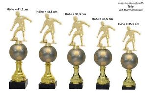 5er Pokalserie Fussballer Gold 637 (Höhe 41,5-35,5 cm) inkl.Gravur 42,95 EUR