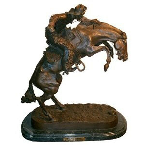 Choro Chaps  Pure Escultura De Bronce Coleccionable inspirado por Remington Mini