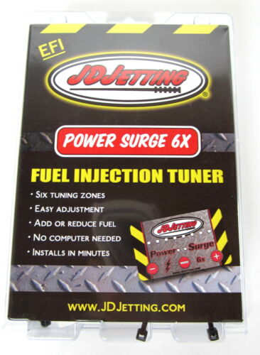 JD Jetting Power Surge 6x Fuel Injection Tuner Yamaha WR250R 08 09 10 12 14 16