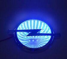 Neueste Auto 3D Blau LED Logo Emblem Light für Opel, 13,3 cm x 10,1 cm
