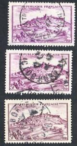 VARIETE-N-759-Vezelay-LES-TROIS-NUANCES-DE-LILAS-obliteres-SANS-DEFAUT