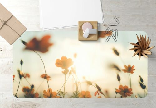 3D Flowers Sunshine 149 Nonslip Office Desk Mouse Mat Large Keyboard Pad Game
